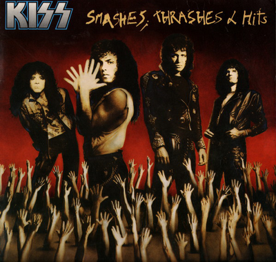KISS - SMASHES, TRASHES & HITS Canadian Pressing With Innersleeve (LP)
