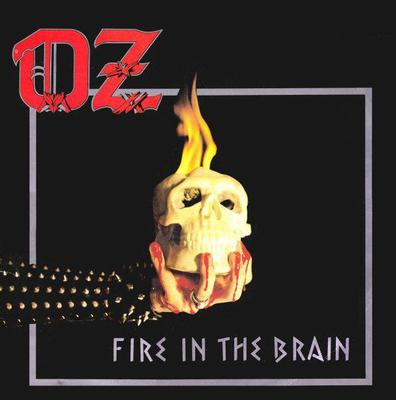 OZ - FIRE IN THE BRAIN Rare metal album, Swedish pressing! (LP)