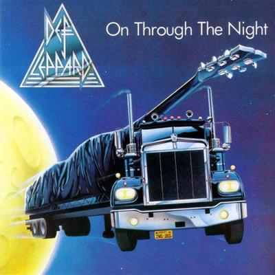 DEF LEPPARD - ON THROUGH THE NIGHT Canadian original (LP)