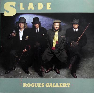 SLADE - ROGUES GALLERY German pressing (LP)