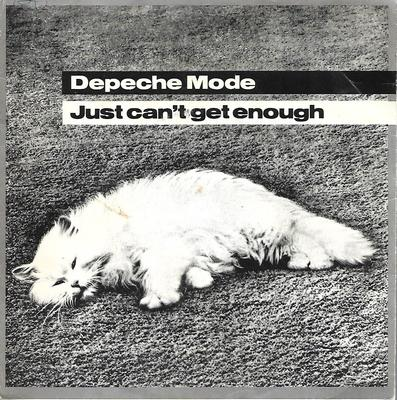 "DEPECHE MODE - JUST CAN'T GET ENOUGH Swedish, small centre (7"")"