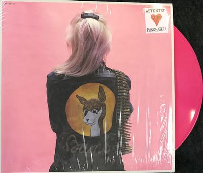 ATTENTAT - PUNKHJÄRTA Limited Edition 200 copies, Pink Vinyl and poster (LP)