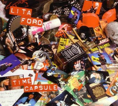 FORD, LITA - TIME CAPSULE LP+CD (LP)