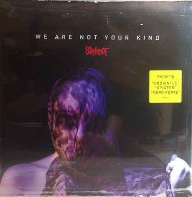 SLIPKNOT - WE ARE NOT YOUR KIND (LP)