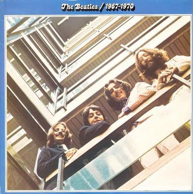 BEATLES, THE - THE BEATLES 1967-1970 Double album, Swedish pressing, gatefold (2LP)