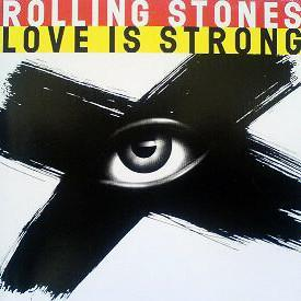 """ROLLING STONES, THE - LOVE IS STRONG U.S. maxi single (12"""")"""
