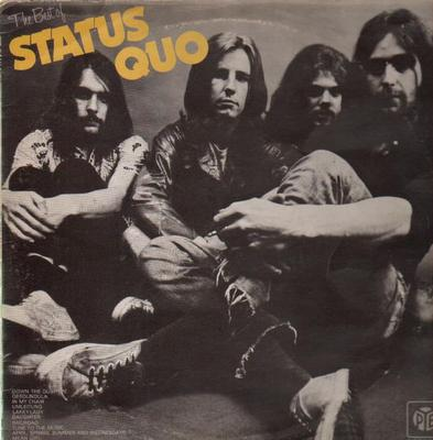STATUS QUO - THE BEST OF... UK Original Pye Records Pressing With Blue Labels (LP)