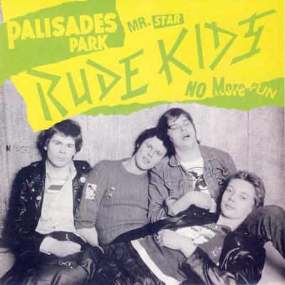 """RUDE KIDS, THE - PALISADES PARK Blue Vinyl, Reissue Of The Mega Rare Last 7"""", With Two Additional Songs (7"""")"""
