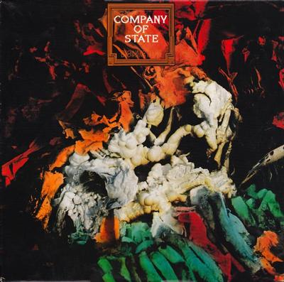COMPANY OF STATE - DROWNING IN FIRE Antler Records (LP)
