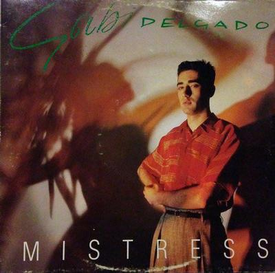 DELGADO, GABI - MISTRESS Solo album by DAF member. Finnish pressing (LP)