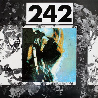 FRONT 242 - OFFICIAL VERSION Swedish pressing. Comes with a set of autographs! (LP)