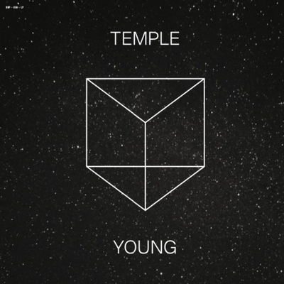 TEMPLE & YOUNG - S/T Limited Edition 300 copies, Black Vinyl, Andreas Kleerup, Electronic / Kraut project (LP)