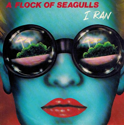 "A FLOCK OF SEAGULLS - I RAN / PICK ME UP Scandinavian ps, New Wave classic! (7"")"
