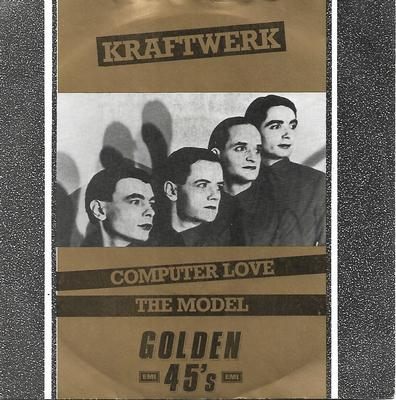 "KRAFTWERK - COMPUTER LOVE / THE MODEL UK 1984 re-issue, ps (7"")"