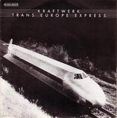 "KRAFTWERK - TRANS EUROPE EXPRESS / FRANZ SCHUBERT French ps, injection labels (7"")"