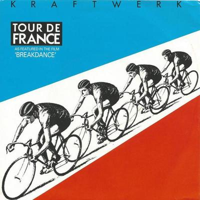 "KRAFTWERK - TOUR DE FRANCE Dutch ps, rare sleeve variation (7"")"