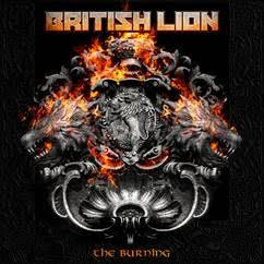 BRITISH LION - THE BURNING Gatefold and printed innersl. (2LP)