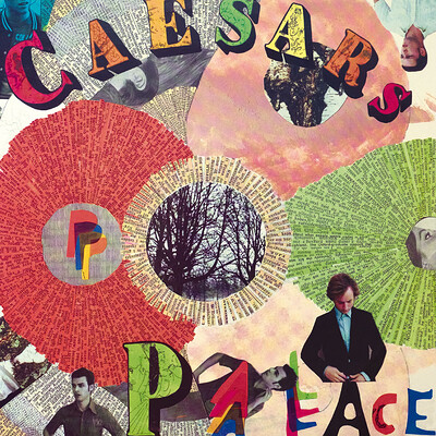 CAESARS PALACE - YOUTH IS WASTED ON THE YOUNG Limited Edition 200 copies in coloured vinyl and with exclusive Fanzine (LP)