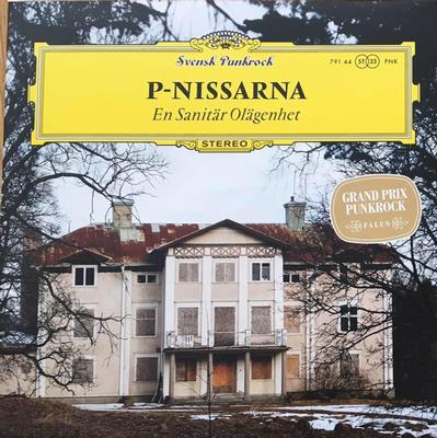 P-NISSARNA - EN SANITÄR OLÄGENHET Compilation of 1979-2007 recordings, red vinyl (LP)