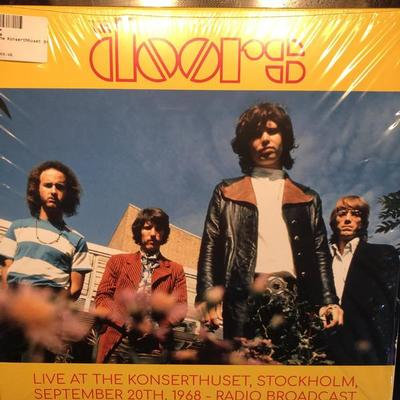 DOORS, THE - LIVE AT THE KONSERTHUSET, STOCKHOLM 1968 (2LP)