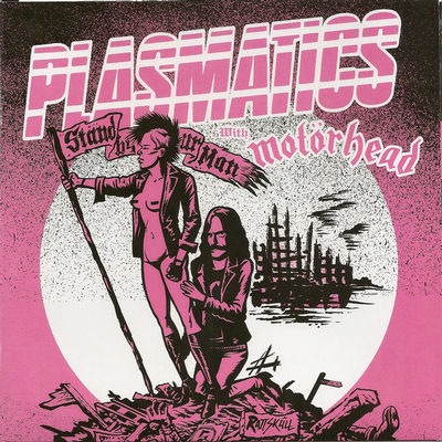 """PLASMATICS WITH MOTORHEAD - STAND OUT WITH YOUR MAN PINK Vinyl, (7"""")"""