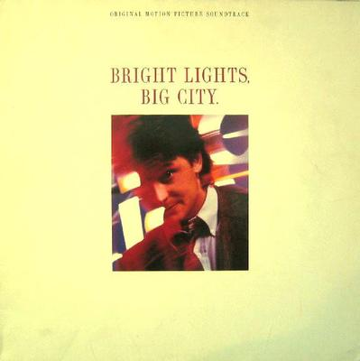 VARIOUS ARTISTS (SOUNDTRACK) - BRIGHT LIGHTS, BIG CITY Depeche Mode, Prince, New Order a.o. German pressing (LP)
