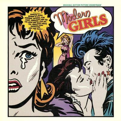 VARIOUS ARTISTS (SOUNDTRACK) - MODERN GIRLS Depeche Mode, Jesus and Mary Chain a.o. (LP)