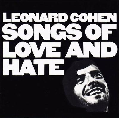 COHEN, LEONARD - SONGS OF LOVE AND HATE Dutch re-issue (80:s), red labels (LP)