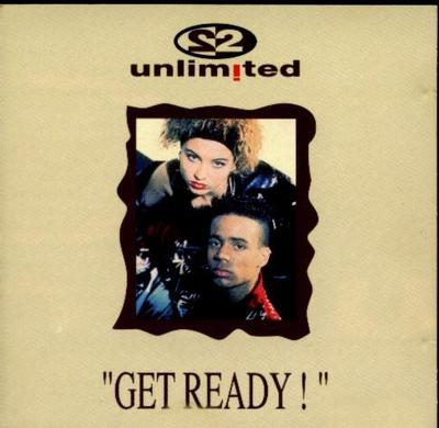 2 UNLIMITED - GET READY Scarce Belgian vinyl edition (LP)