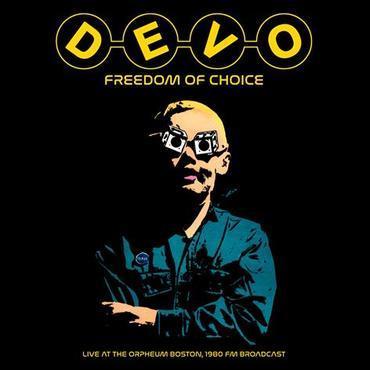 DEVO - FREEDOM OF CHOICE -Live Boston 1980 (LP)