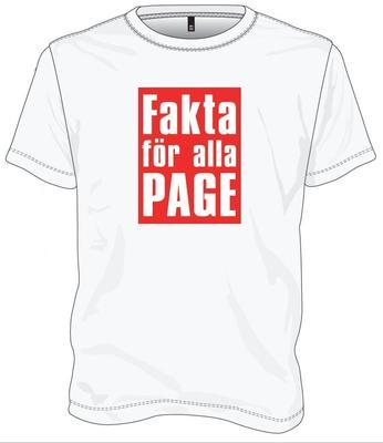 PAGE - FAKTA FÖR ALLA size XL, T-shirt (TS)