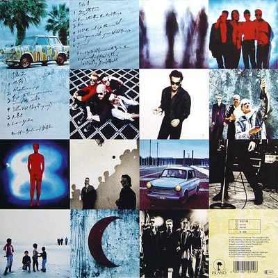 U2 - ACHTUNG BABY Original German pressing with nude picture (LP)