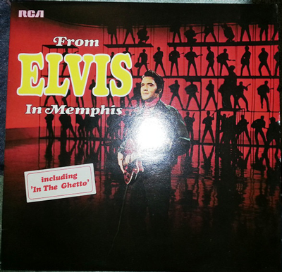 PRESLEY, ELVIS - FROM ELVIS IN MEMPHIS German pressing (Soc) (LP)