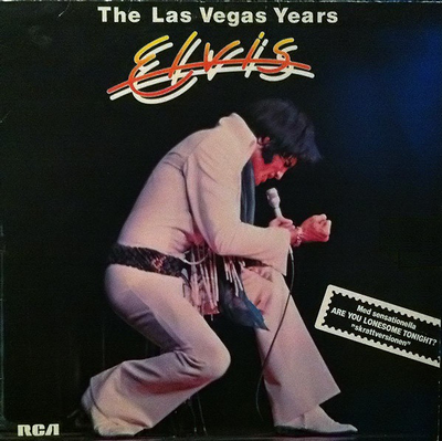 PRESLEY, ELVIS - THE LAS VEGAS YEARS Swedish only Pressing (LP)