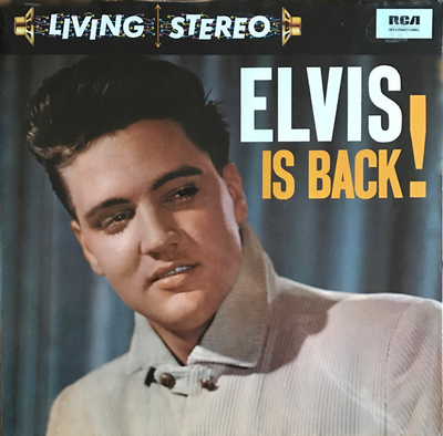 PRESLEY, ELVIS - ELVIS IS BACK! German 1984 Pressing (LP)