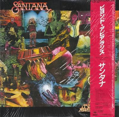 SANTANA - BEYOND APPEARANCES Scarce Japanese edition, with OBI and insert (LP)