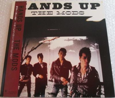 MODS, THE - HANDS UP Japanese 1983 punk, complete with OBI and insert (LP)