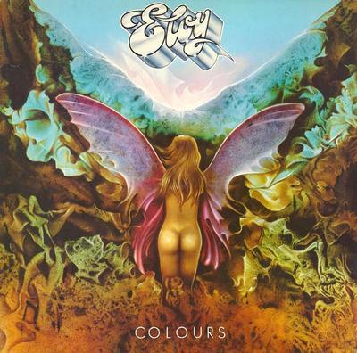 ELOY - COLOURS German pressing, gatefold (LP)