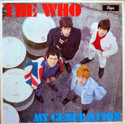 WHO, THE - MY GENERATION UK re-issue, 1980 (LP)