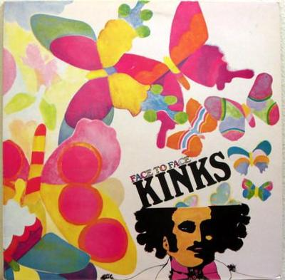 KINKS, THE - FACE TO FACE UK 1980 re-issue (LP)