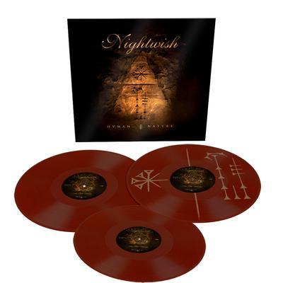 NIGHTWISH - HUMAN NATURE European only 500 copies Triple-Lp in Brown vinyl (3LP)