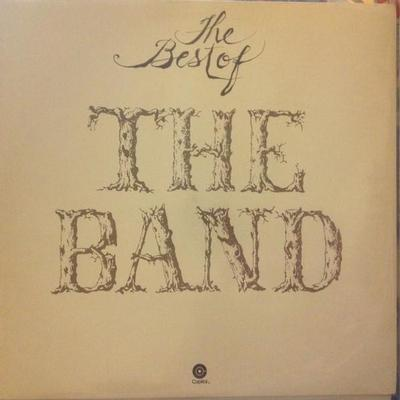 BAND, THE - THE BEST OF THE BAND Swedish pressing (LP)