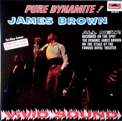 BROWN, JAMES - PURE DYNAMITE U.S. 90:s re-issue (LP)