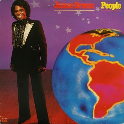 BROWN, JAMES - PEOPLE U.S. pressing (LP)