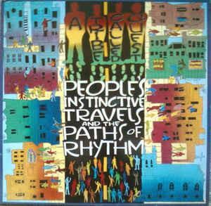 A TRIBE CALLED QUEST - PEOPLES INSTINCTIVE TRAVELS AND THE PATHS OF RHYTHM Re. (LP)