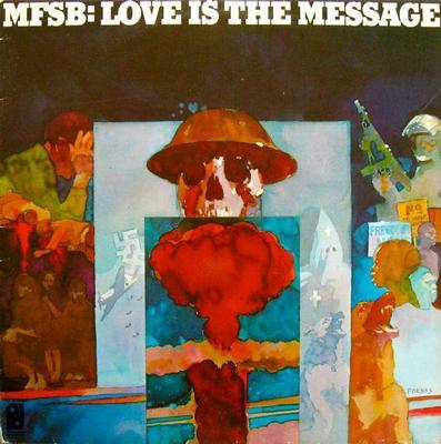 MFSB - LOVE IS THE MESSAGE Dutch pressing (LP)
