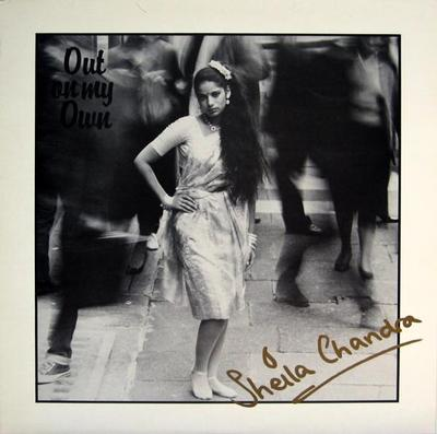 CHANDRA, SHEILA - OUT ON MY OWN Swedish pressing (LP)