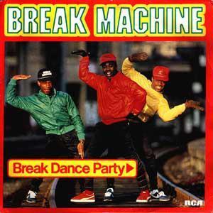 BREAK MACHINE - BREAK DANCE PARTY Swedish pressing, classic 1984 electronic hip hop album! (LP)