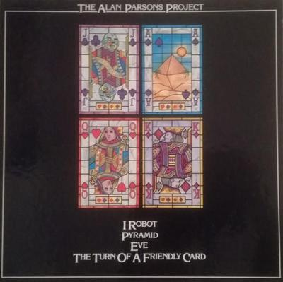 ALAN PARSONS PROJECT, THE - I ROBOT / PYRAMID / EVE / THE TURN OF A FRIENDLY CARD German 4LP box set (4LP)