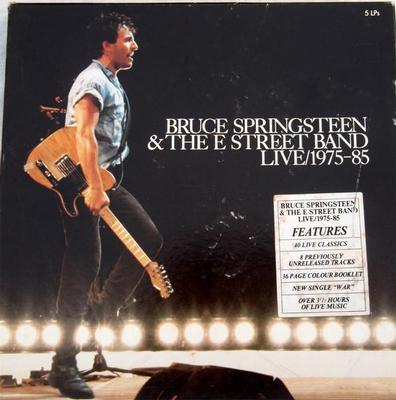 SPRINGSTEEN, BRUCE - LIVE / 1975-85 Aussie pressing, 5LP box set with booklet (5LP)